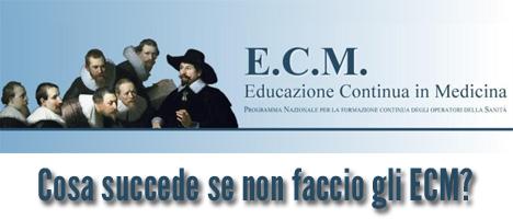 Obbligo formativo ECM per medici chirurghi e odontoiatri