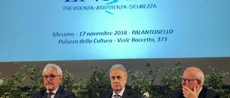 """Pensioni più rapide per i medici, il presidente Oliveti a Messina: """"Il patrimonio dell'ENPAM a servizio degli iscritti"""""""
