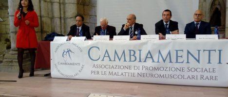 Corso sulle malattie neuromuscolari rare: i vari aspetti dell'assistenza