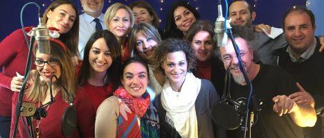 50 giornalisti messinesi cantano la gioia della solidarietà per il Centro clinico Nemo Sud