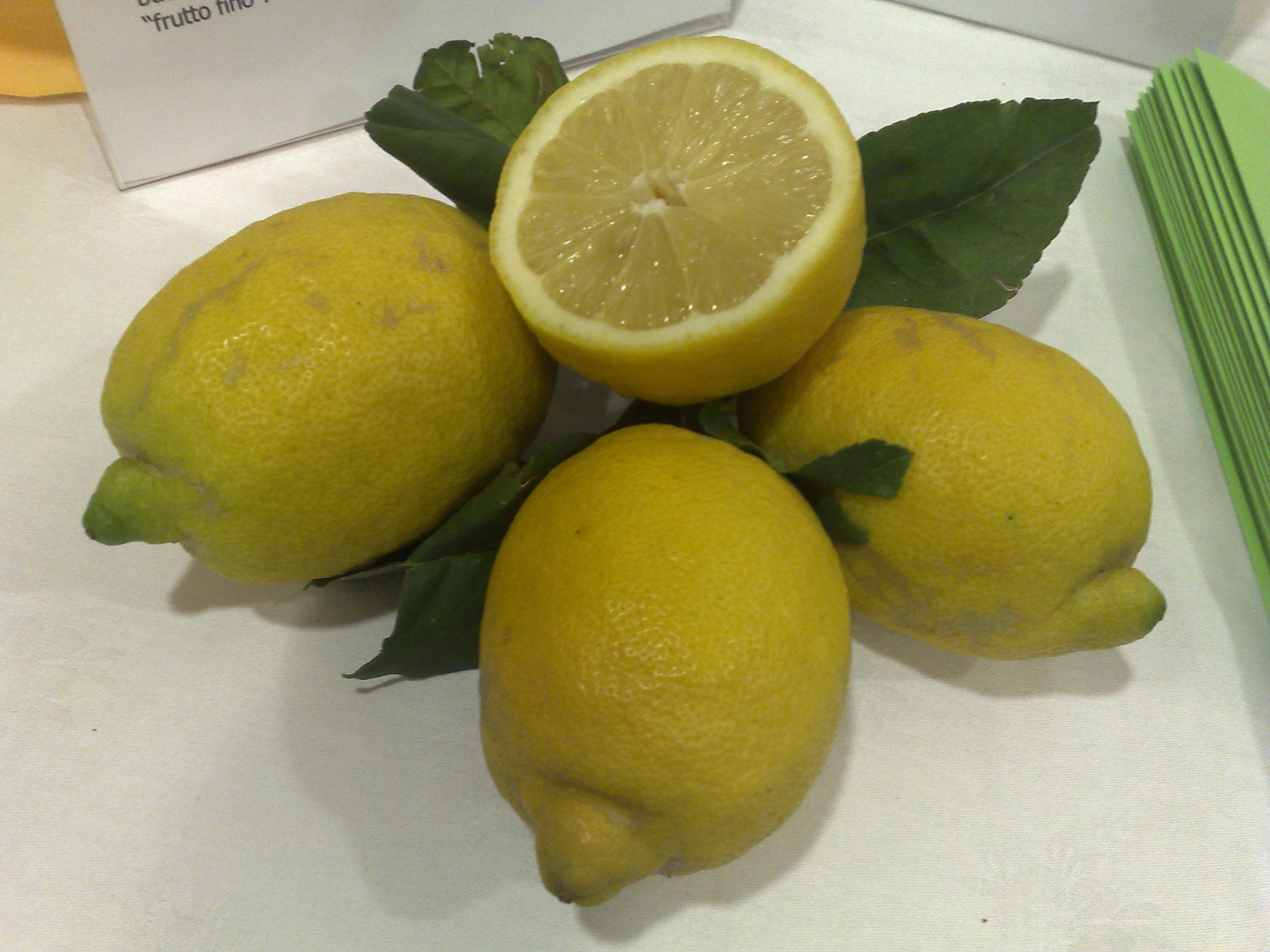 Cibo sano, pulito e giusto: il limone