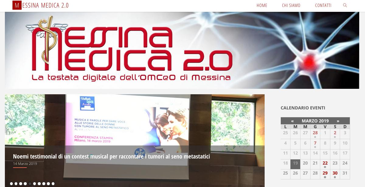 """Messina Medica 2.0 """"raddoppia"""": newsletter anche il martedì e profilo su Instagram"""