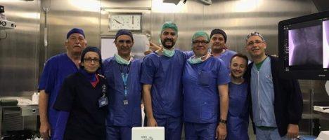 Ircss di Messina: eseguito il primo impianto wifi minivasivo sul ganglio toracico in Italia