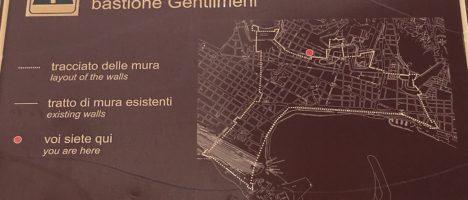 Messina nascosta: La cinta muraria