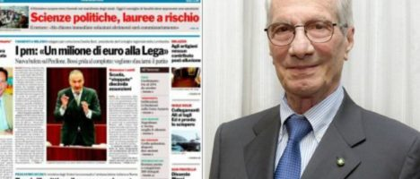 Addio a Gianni Morgante, editore della Gazzetta del Sud