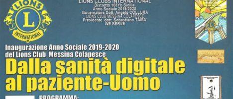 """""""Dalla sanità digitale al paziente-Uomo"""" evento il 21 ottobre al Salone delle Bandiere di Messina"""