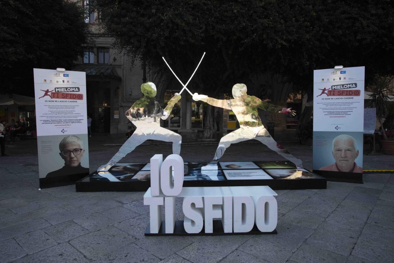 Sbarca in Sicilia la campagna contro il mieloma multiplo con testimonial Aldo Montano