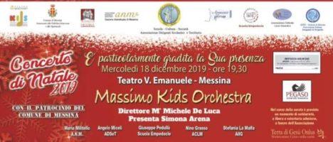 """""""Concerto di Natale 2019"""" mercoledì 18 dicembre al Teatro Vittorio Emanuele"""
