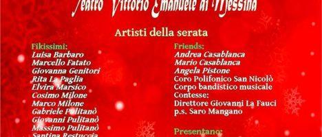 """""""Aspettando il Natale con i fikissimi and friends"""" evento il 21 dicembre al Teatro Vittorio Emanuele di Messina"""