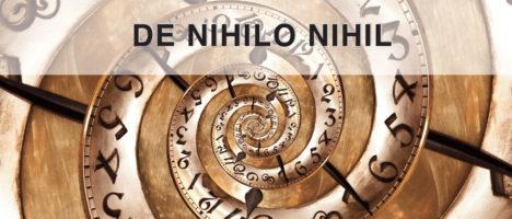 De Nihilo Nihil