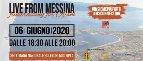 "Live from Messina for AISM"" dalla Sicilia l'evento musicale che unisce l'Italia"