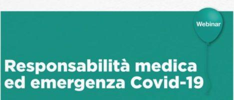 """Rinviato evento formativo """"Responsabilità medica ed emergenza Covid – 19"""" al 13 Luglio ore 16"""