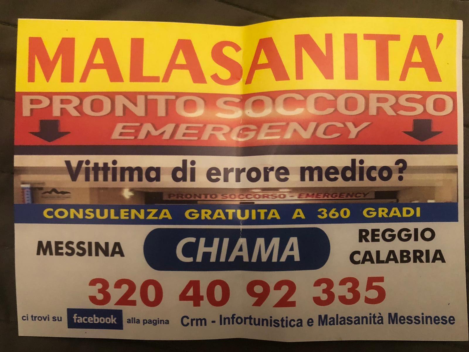 """Avvocati che speculano sui medici. L'Ordine degli Avvocati di Messina: """"Solidarietà, stigmatizzazione e pronti a denunciare i colleghi"""""""