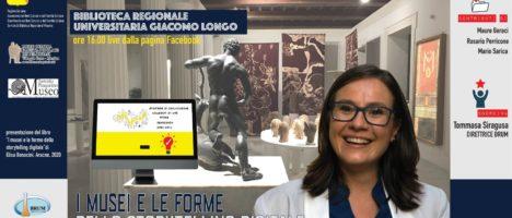 """l musei e le forme di storytelling digitale"""": mercoledì 2 evento della Biblioteca Regionale di Messina in diretta Facebook"""