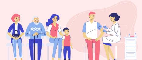 """Corso FAD gratuito """"Campagna vaccinale antinfluenzale nell'adulto e nel bambino ai tempi di Covid 19"""""""