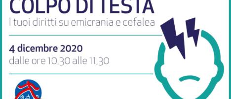 Colpo di testa, diritti su emicrania e cefalea: venerdì 4 web meeting di CittadinanzAttiva