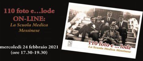 """Il 24 febbraio evento presentazione online """"110 foto e… lode. La Scuola Medica Messinese"""""""
