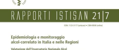 Valutazione dell'Osservatorio Nazionale Alcol sull'impatto dei consumi per l'implementazione del Piano Nazionale