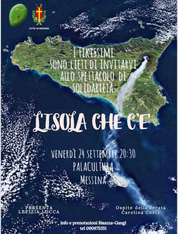 """""""L'isola che c'è"""" de I FIKISSIMI, venerdì 24 settembre al Palacultura. Un omaggio artistico alla Sicilia con tante sorprese"""