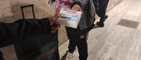 Terra di Gesù On The Road, la ronda sanitaria che da più di tre anni dispensa farmaci ai senzatetto della Stazione Centrale di Messina, si completa con un servizio cardiologico